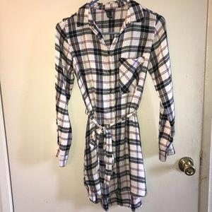 Flannel Dress